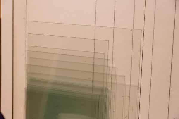 Normalglas für Bilderrahmen